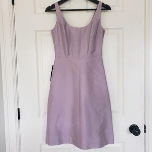 NWT Ann Taylor purple a line sheath dress
